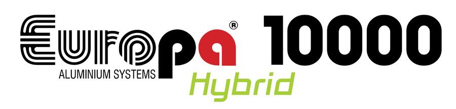 Συρόμενα κούφωμα EUROPA 10000 Hybrid.