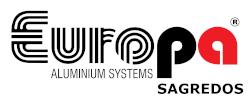 Κατασκευές αλουμινίου | Europa Sagredos Ελληνικό Logo